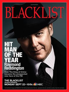 "The Blacklist NBC | in character as Raymond Reddington from the NBC series ""The Blacklist ..."