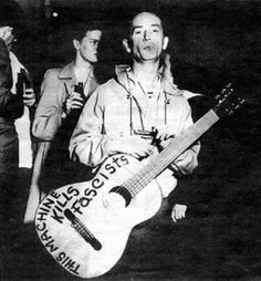 This Machine Kills Fascists... Woody Guthrie. via http://bigthink.com/think-tank/woody-guthrie-versus-the-one-percent#