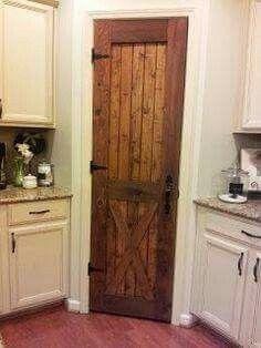 What a great pantry door!