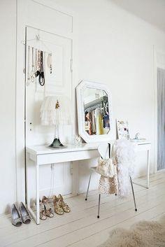 vanity bianco