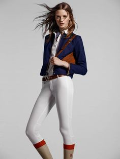 tackroomsandclosets:  Perfect casual outfits for ladies out of 2014 Equestrian Massimo Dutti collection. #casual #ootd