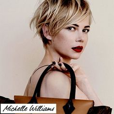 Michelle Williams | perfect long pixie ...