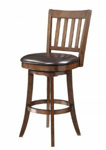 Amazon Inspired by Bassett Mission Bar Stool Espresso Kitchen Dining