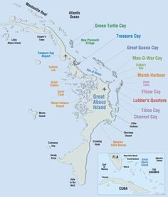 map of elbow cay bahamas | ... elbow cay a small cay off of great abaco island in the bahamas mature
