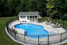 View our Mountain Pond Inground Pool Gallery. Juliano's Pools can help you with your pool project, we serve Western Massachusetts, Connecticut, and Rhode Island