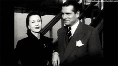 Fan Art of Vivien and Laurence gif. for fans of Vivien Leigh.