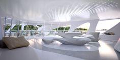 Gallery of Zaha Hadid Designs Superyacht - 12