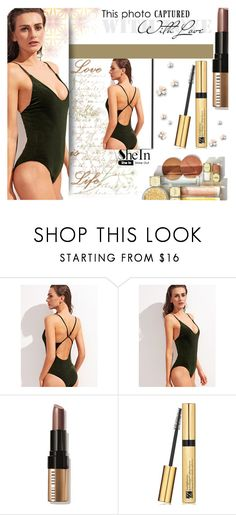 """""""Shein"""" by lenam-2 ❤ liked on Polyvore featuring Michael Kors, Bobbi Brown Cosmetics and Estée Lauder"""