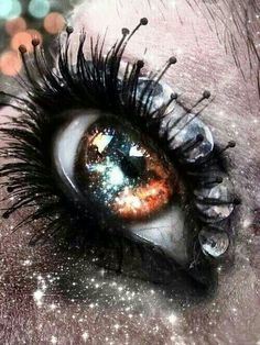 starry eye. Okay, I know this is a girl eye, but the eye COLOR is Orion's. . . the mixture of earthy blue, gold, and brown, with the star flecks that shimmer like a galaxy in the night sky. . . they are amazing. :3