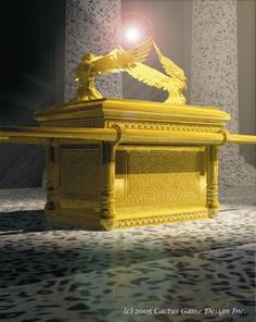 Ark of the Covenant: the holy of holies. It could be in either Damascus, Ethiopia, or under the Dome of the Rock.