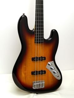 Fender Squier Vintage Modified Jazz Fretless Electric Bass | Reverb