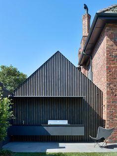 Like its heritage counterparts, this double-storey home by Made by Cohen & Penny Kinsella Architects in Malvern East had an elegant architectural legacy. Large Open Plan Kitchens, Melbourne, Timber Ceiling, Australian Interior Design, Modern Interior, Arched Doors, Timber Cladding, D House, Storey Homes