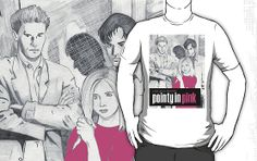 Pointy In Pink #Buffy shirt by tdhanshew