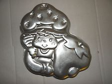 Wilton Cake Pan Treat Mold Strawberry Shortcake 502-3835 Birthday Girl