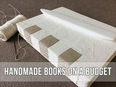 If you're new to making handmade books, please don't spend a fortune on new tools and equipment. Here are my … Read More →