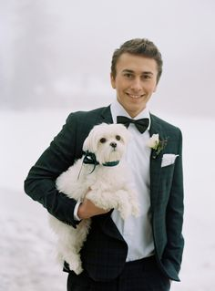 Groom --  Black Watch Tartan Tuxedo from Valentino Tailors | See more on SMP: http://www.StyleMePretty.com/tri-state-weddings/2014/03/17/tartan-and-tulle-inspiration-shoot/ Photography: Charlotte Jenks Lewis