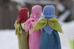 Купить Кукла народная Ангел с добрыми пожеланиями - разноцветный, ангел, рождество, кукла ангел