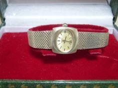 Analog Hand Winding アンティークRADOSWISSMADE手巻式婦人用腕時計ゴールドケース付 Watch Antique ¥5000yen 〆10月23日