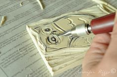 Carve your own rubber stamps,it's a hoot!!!….