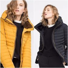 ZARA Woman BNWT Mustard Navy Blue Black Quilted Coat Faux Fur Collar 8073/233  $115.28    End Date:  May-19 05:28   Buy It Now for only: US $115.28  Buy it now    |  http://bayfeeds.com/ebayitem.php?i=182060829483&u=3464&f=3228