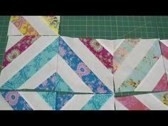 "Make a ""Summer in the Park"" Quilt Using Jelly Rolls...Great tube quilting project"