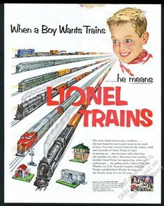 For some people, collecting toy trains isn't just another hobby or interest; The concept of collecting toy trains has been around for centuries. Nearly everyone has some type of connection to toy trains, whether it Vintage Advertisements, Vintage Ads, Vintage Trains, Retro Advertising, Hobby Electronics Store, Volkswagen, Hobby Kids Games, Hobby Shops Near Me, Electric Train Sets