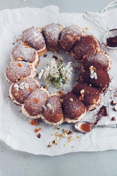 Paris Brest with coffee mousse and caramel | Passion for kitchen