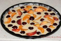 Tarta rapida cu smântânā si fructe