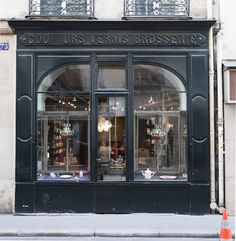 Astier de Villatte on rue Saint-Honoré, Paris