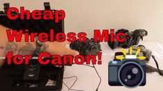 Cheap Wireless Microphone System for Canon Film Making, Gift Guide, Canon, Cannon, Filmmaking