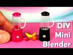 DIY Realistic Miniature Coffee Maker | DollHouse | No Polymer Clay! - YouTube