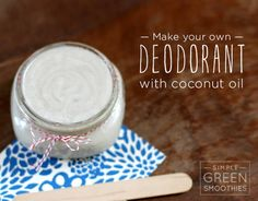 """1,195 Likes, 98 Comments - Jen   Simple Green Smoothies (@simplegreensmoothies) on Instagram: """"RAWKSTAR HOMEMADE DEODORANT Wanna join me on the hippie bandwagon? Let's make some deodorant with…"""""""