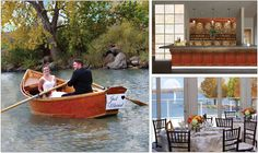 Weddings at The Lake House, located in The Marina at Cherry Creek State Park, Greenwood Village, Colorado.