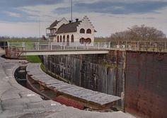The Locks in Plaquemine, Louisiana