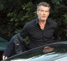 Pierce Brosnon aging better than any man has a right to.
