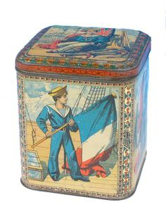 Huntley and Palmers biscuit tin   1890