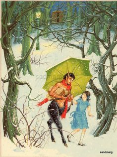 Image result for mr tumnus by the light illustration
