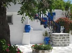 Image result for Mykonos courtyards