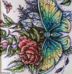 Instagram media hadar_dar - #podrugiejstroniesnu #karolinakubikowska #coloring #colouring #coloringbook #colouringbookforadults #prismacolor #colouredpencils #mycreativeescape #coloringoninstagram
