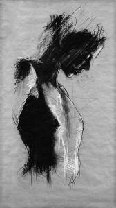 Por amor al arte: Guy Denning zeichnung, Human Figure Drawing, Figure Sketching, Life Drawing, Dark Drawings, Charcoal Art, Paper Drawing, Figure Painting, Portrait Art, Art Techniques