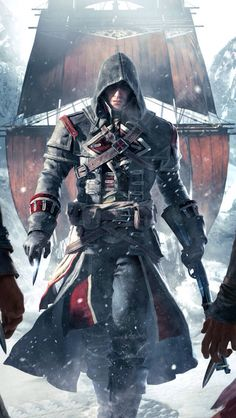 AC Rogue. This game was one of my favorites. Phenomenal graphics and gameplay, and amazing character development. Who could pass it up?