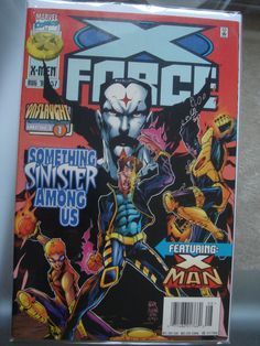 rare x men 14 has original 2 collectible cards apocalypse and rh pinterest com Rare Vintage Disney Comic Books Overstreet Comic Book Price Guide