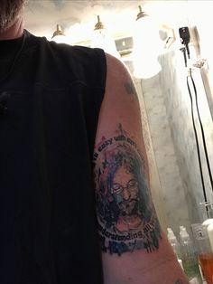 New tat. John Lennon