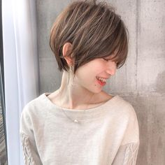 Asian Short Hair, Short Hair Styles Easy, Hairstyles Haircuts, Cool Hairstyles, Dream Hair, Hair Cuts, Hair Color, Bob, Hair Beauty