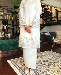 If we go traditional Muslimah Wedding Dress, Muslim Wedding Dresses, Wedding Hijab, Dream Wedding Dresses, Wedding Attire, Bridal Dresses, Wedding Gowns, Hijab Bride, Muslim Brides