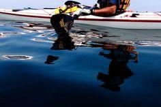 鏡のような水面に映るのは、いつもよりも輝いているジブン☆/山口・GI Paddlers|あそびゅー!カヌー・カヤック