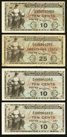MPC Series 481  25  Cents  4th  Printing  VF