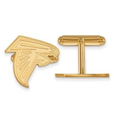 Atlanta Falcons Gold-Plated Logo Cufflinks, Your Price: $99.99