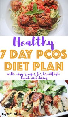 You'll love using this PCOS Meal plan! It's so easy to follow and has delicious and healthy recipes! This weekly meal plan is an introduction to low carb eating for beginners and you'll find simple recipes for breakfast, lunch and dinner. All recipes come with macros and a grocery shopping list. Pcos Meal Plan, Diet Meal Plans To Lose Weight, 7 Day Meal Plan, Ketogenic Diet Meal Plan, Ketogenic Diet For Beginners, Keto Meal Plan, Ketogenic Recipes, Diet Recipes, Healthy Recipes