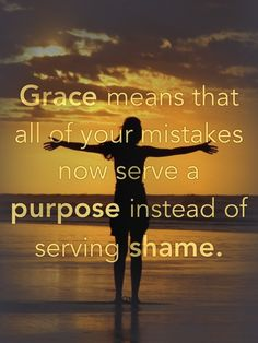 God's grace is always unmerited favor he gives to us.
